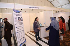 Digital Care stall at Healthcare Technology Pavilion in Pakistan Business Investment Franchise Forum 2018.