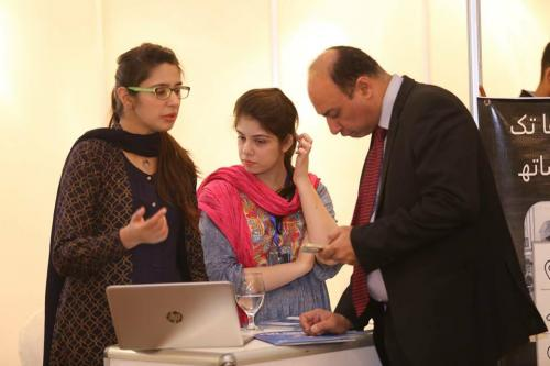 Marham - A leading digital health startup also takes exhibit their startup at Pakistan Business Investment Franchise Forum 2018 at Healthcare Technology Pavilion supported by Pharmevo Private Limited